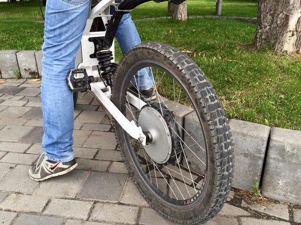 Электровелосипеды от днепропетровских конструкторов (фото) - фото 1