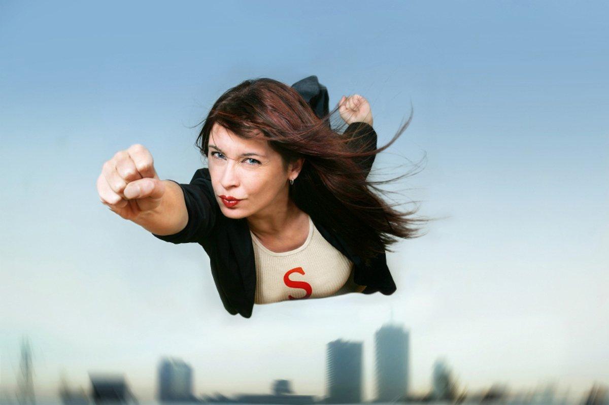 Женщина-лидер