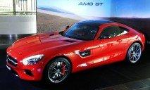 В Киеве разбили первый и единственный спорткар Mercedes AMG GT