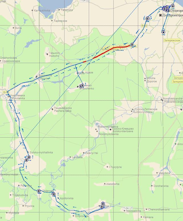Найшвидший вод_й маршрутки цього тижня - з Новомосковського АТП