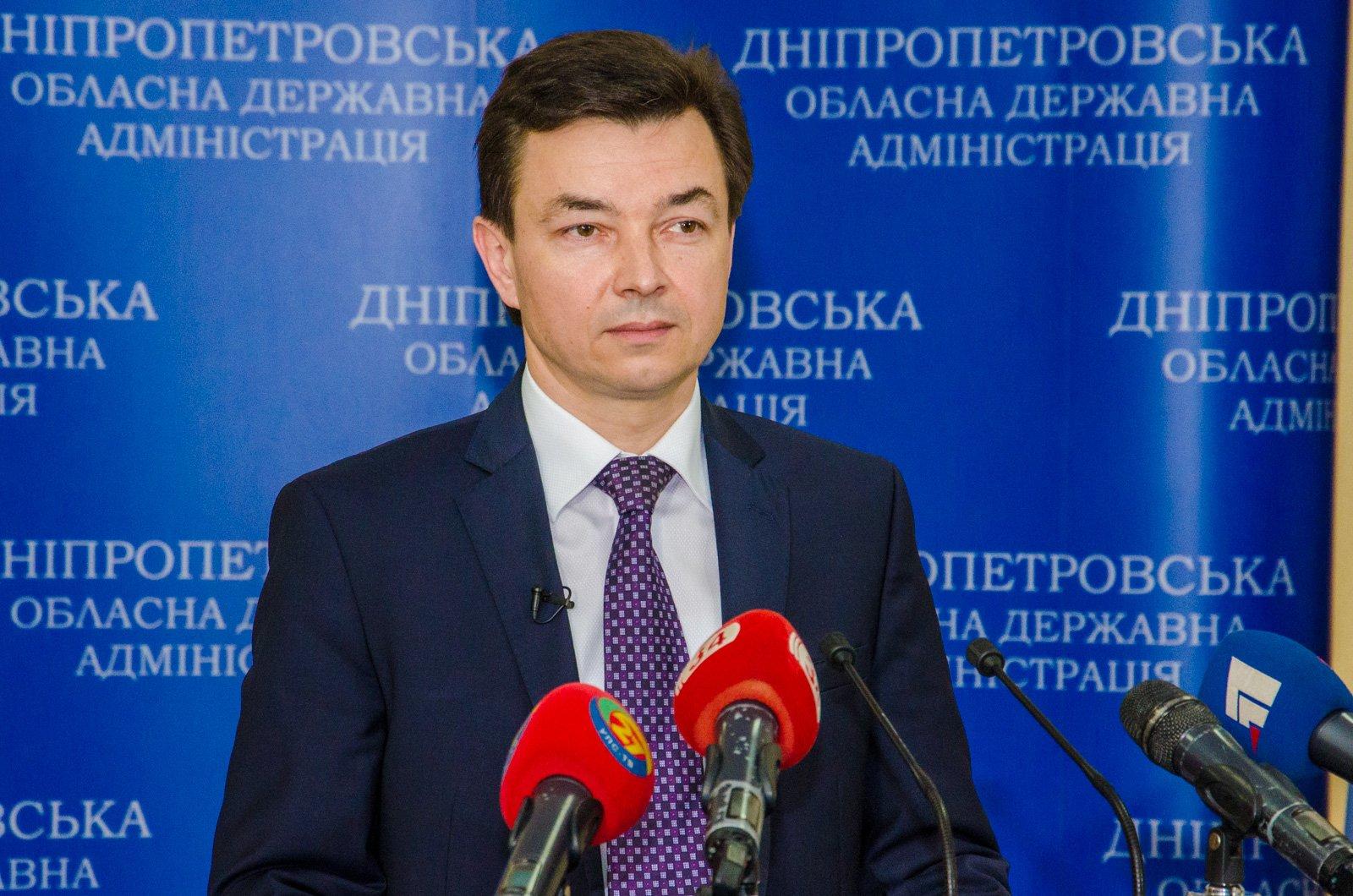 7 ... звітував заступник очільника області Володимир Юрченко..jpg