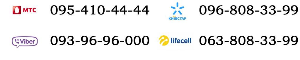 номера телефонов