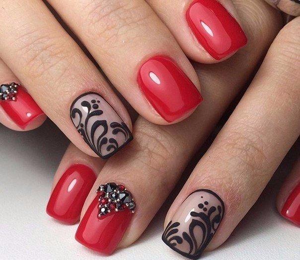 Гелевое покрытие ногтей с дизайном на короткие ногти фото дизайн