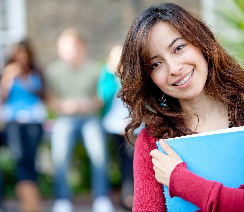 Girl-student-smiling
