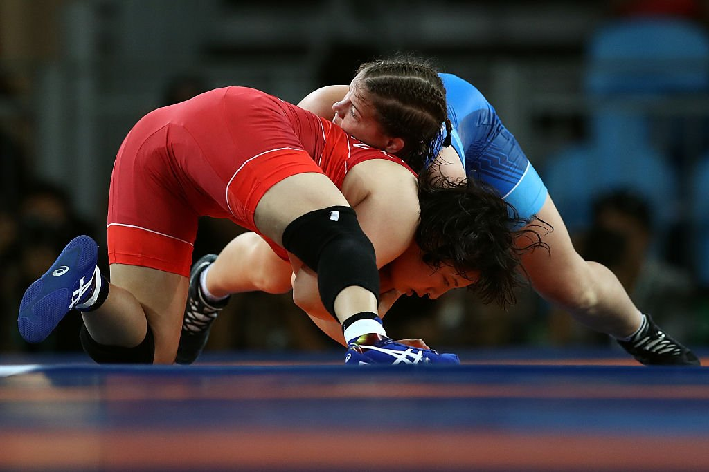 Wrestling - Olympics: Day 12