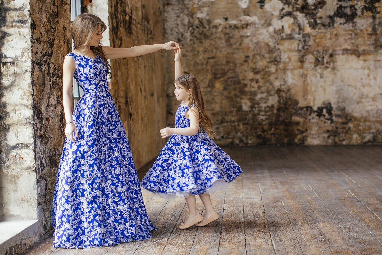 Фото платьев для дочки и мамы 6