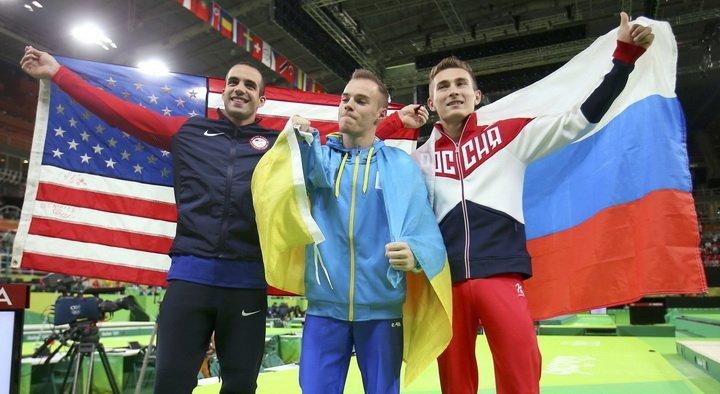 Русский гимнаст завоевал «бронзу» наИграх вРио, «золото» досталось украинскому спортсмену