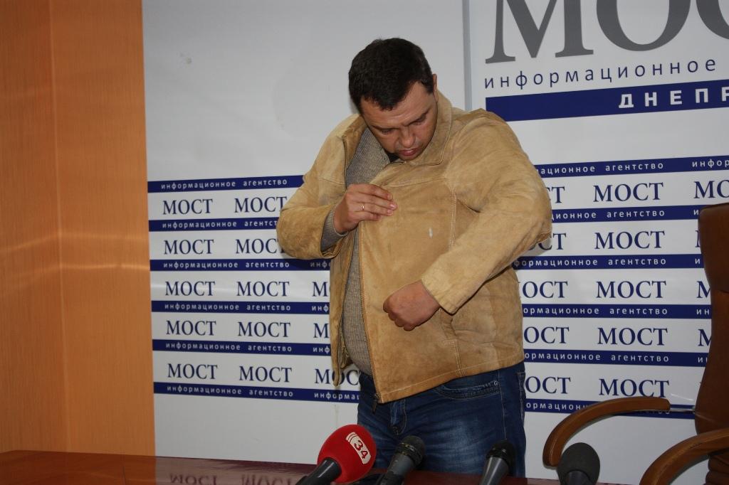 Надепутата от«Оппозиционного блока» напали вДнепре