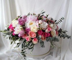 Стильные цветы в подарок 133