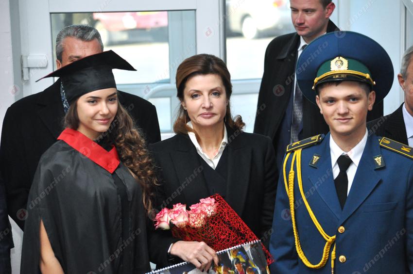 Визит Марины Порошенко вДнепр: что было любопытного