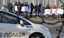 В Днепре снова митингуют на набережной Днепра