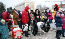 На Днепропетровщине показали самые оригинальные санки