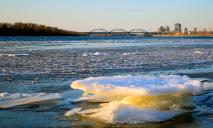 На реке Днепр начался ледоход, уровень воды может существенно подняться