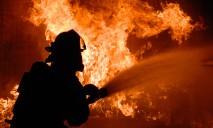 На пожаре погиб пожилой мужчина