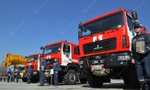 Спасатели Днепра и области получили новую технику и снаряжение