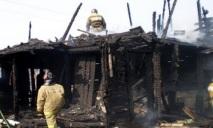 Старушка сгорела в огне