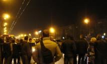 Полиция жестко отреагировала на митинг жильцов обесточенных общежитий