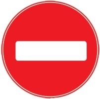 проезд под знаком поворот запрещен
