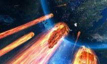 Три огромных метеорита двигаются в сторону Земли