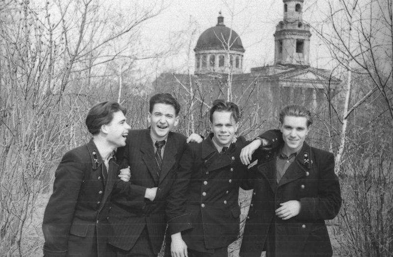 Студенты Горного иститута, год: 1957г.