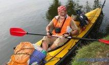Путешественник из Днепра отправляется в плаванье на 4 тысячи киллометров на каяке