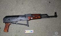 На Днепропетровщине нарушитель ПДД оказался при оружии