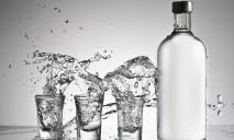 В Украине стали производить меньше водки