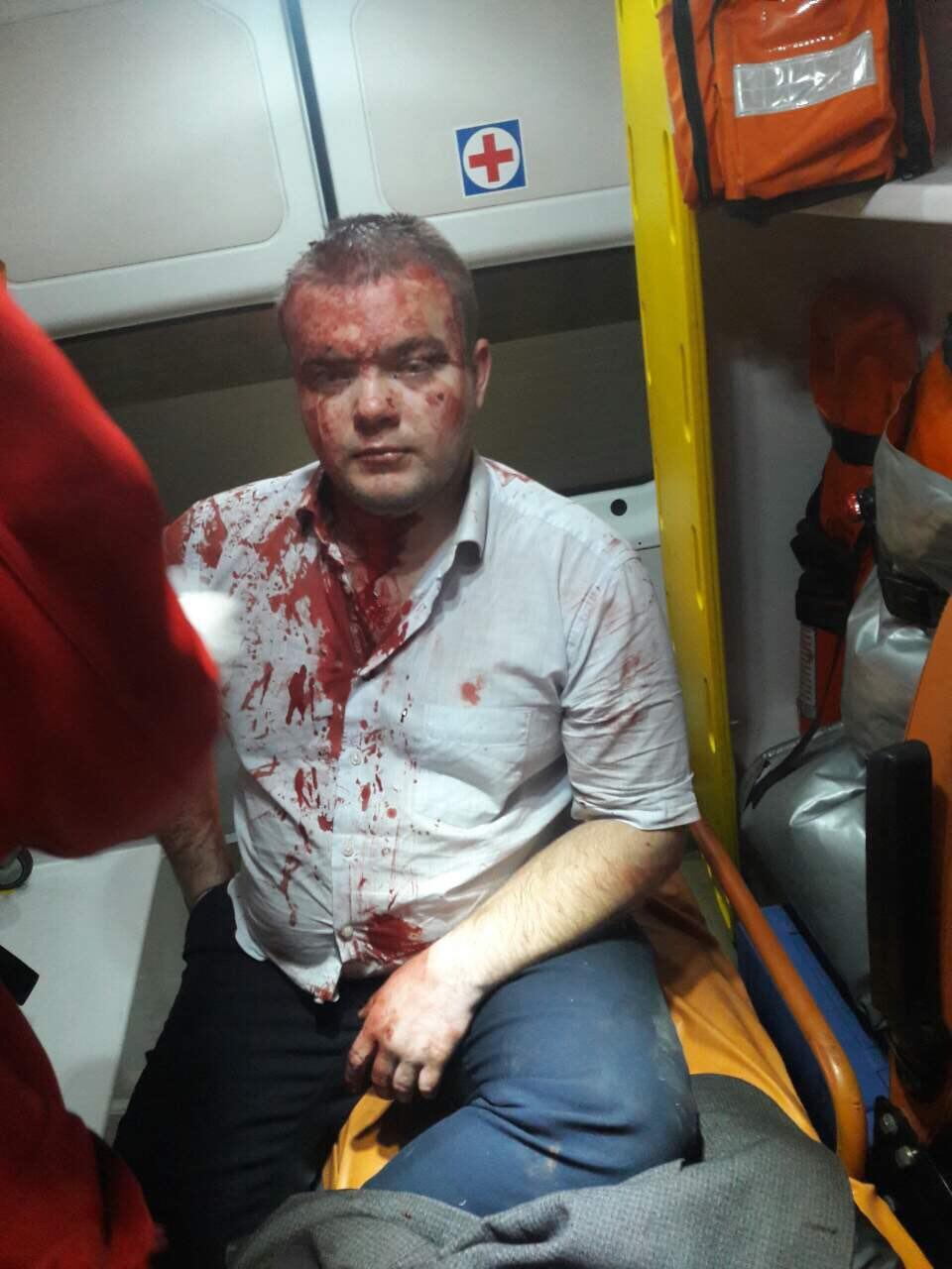 фото Цаценко после задержания