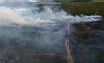 Горящий полигон на Днепропетровщине: не было ли поджога?