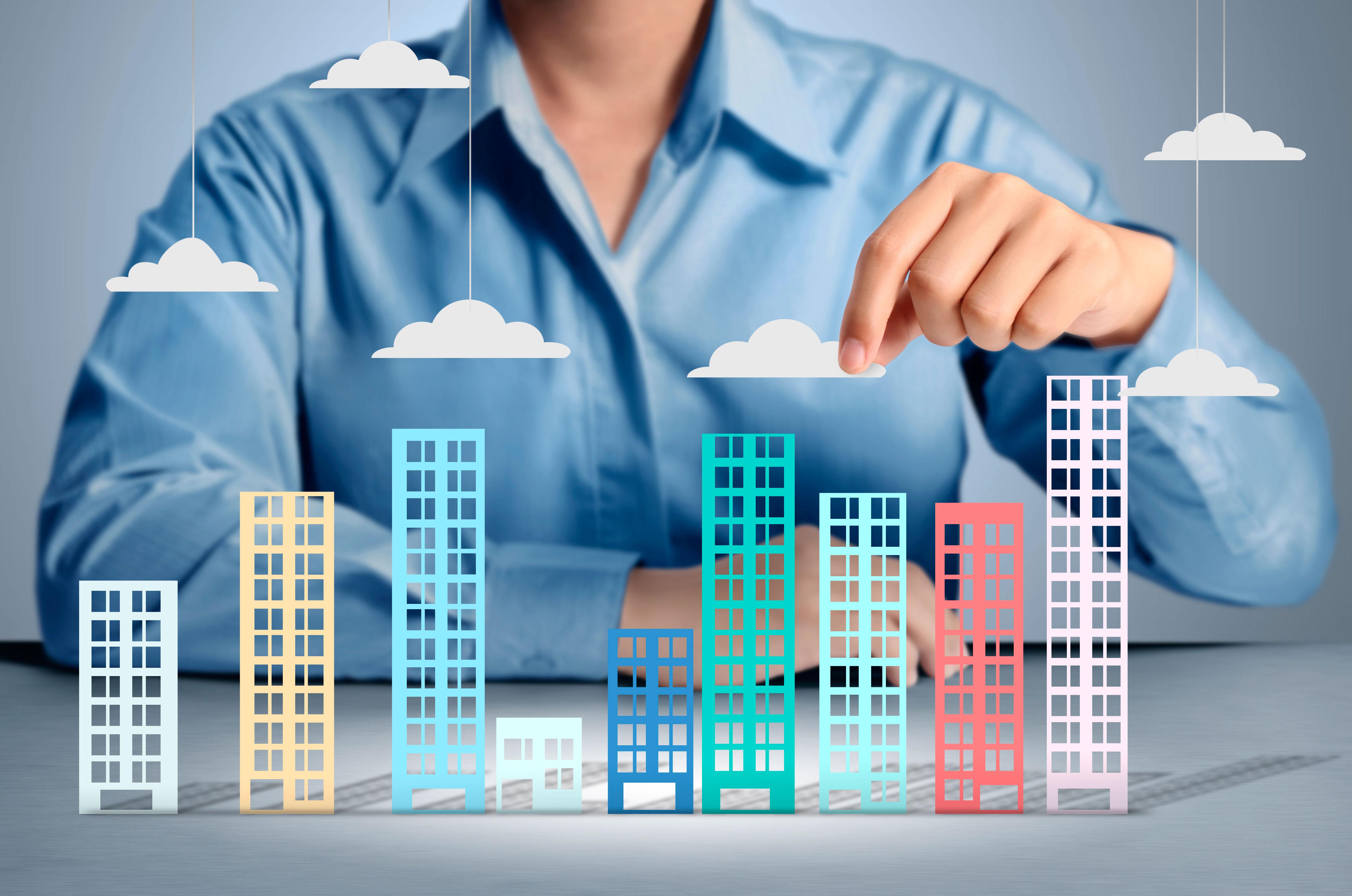 Объем инвестиционных сделок с недвижимостью в мире в первом полугодии составил $289 млрд
