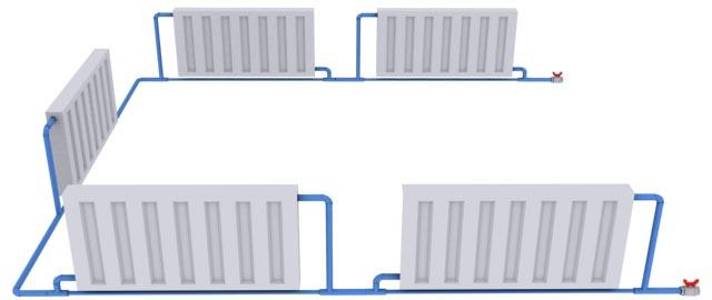 как установить отопление в доме