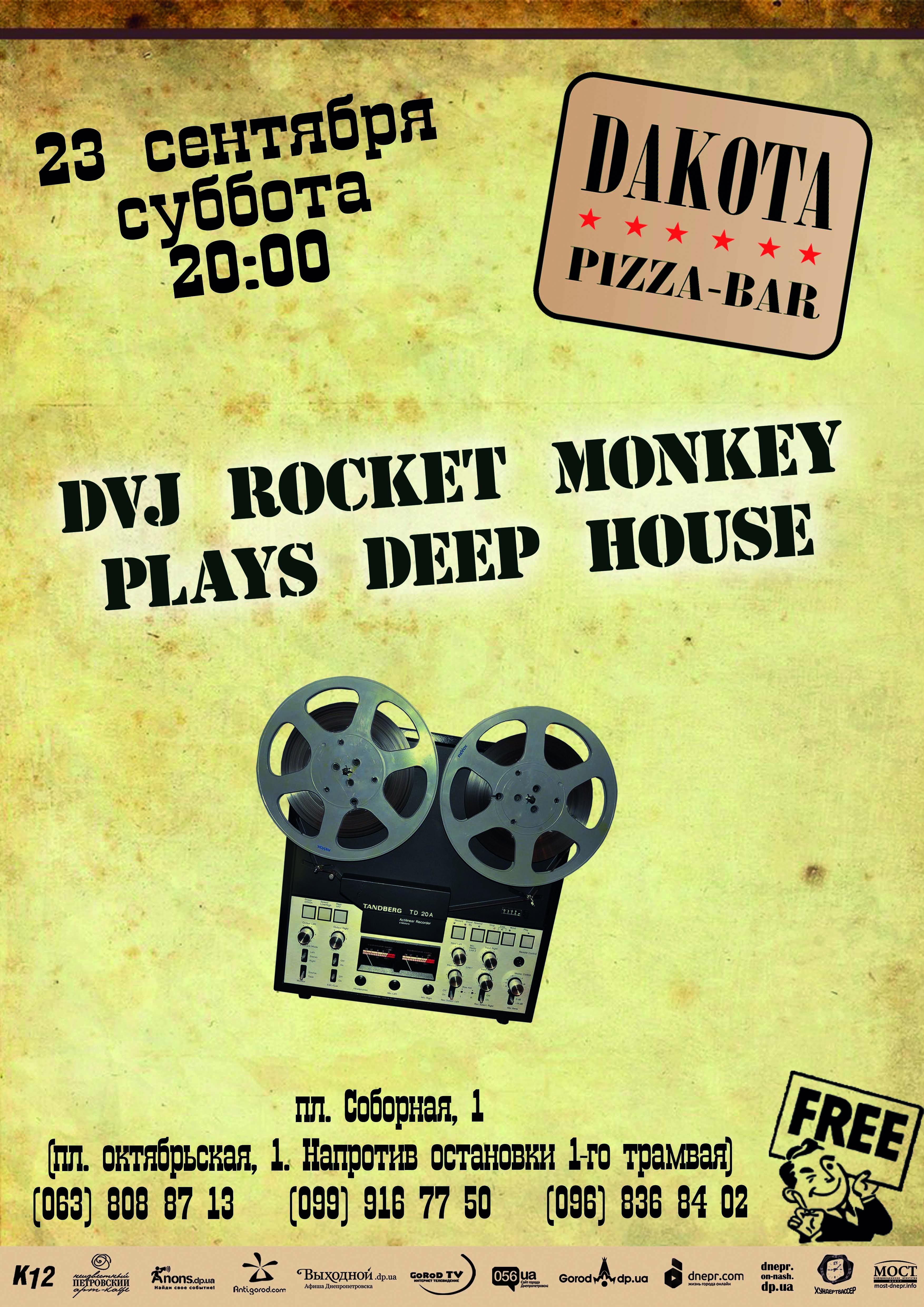 230917DVJ RocketMonkeyPlaysDeepHouse