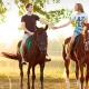 Конные прогулки по берегу Днепра