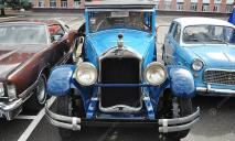 В Днепре показали уникальные ретро-автомобили