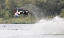 Головокружительные трюки на воде: в Днепре прошел Чемпионат Украины по воднолыжному спорту