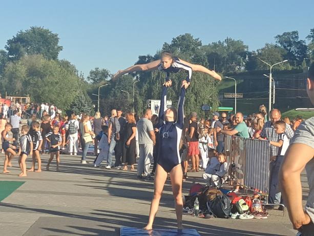 Новости Днепра про Фестиваль спорта, Днепр, 16.09.2017