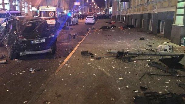 Размещено видео смертоносного наезда напешеходов вХарькове