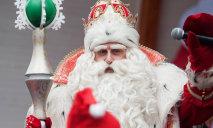 В Днепре русскоговорящий Дед Мороз взламывает украинскую идентичность