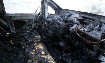 Разрушительное пламя бушевало на трассе возле Днепра
