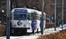 Утреннее ДТП: трамвай №1 снова оказался в центре внимания