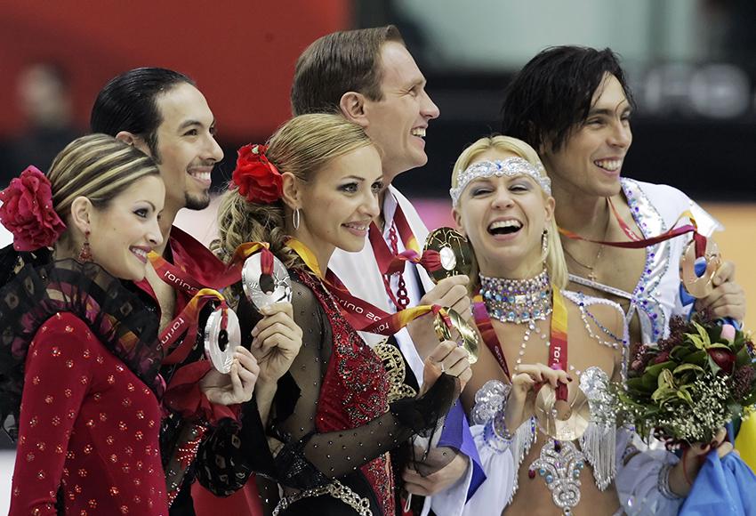 WINTER OLYMPICS FIGURE SKATING ICE DANCING TR2 USA RUSSIAN UKRAI