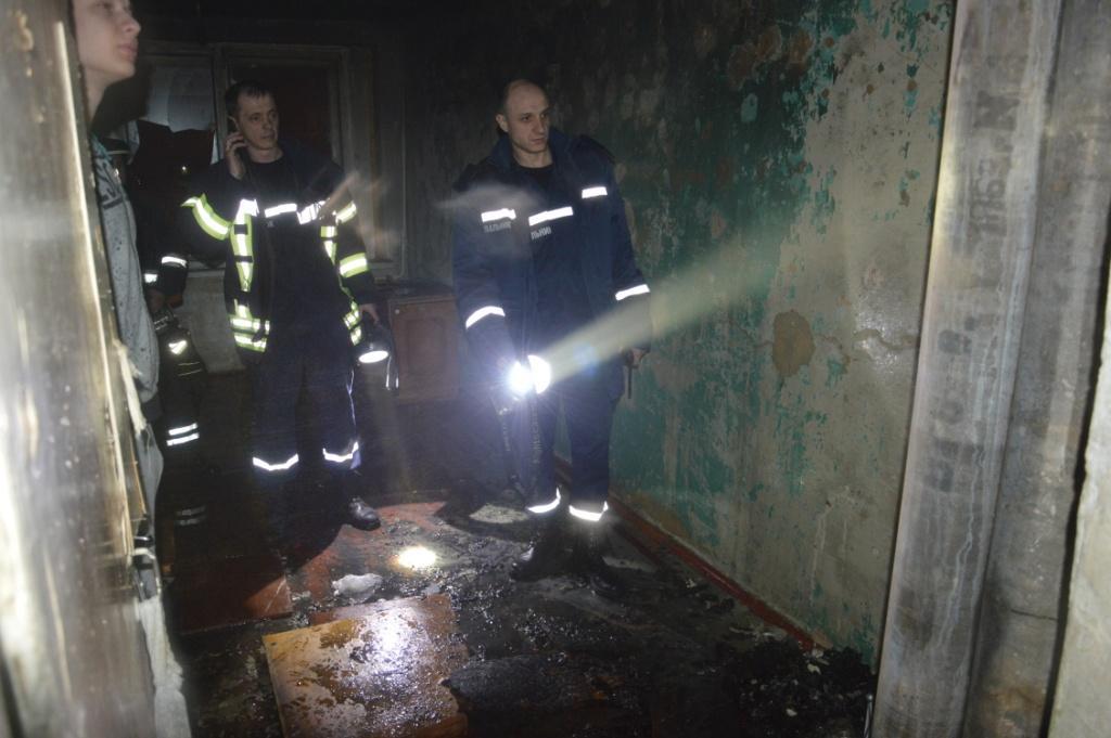 Напожаре вСумах едва непогибли 17 жильцов общежития университета
