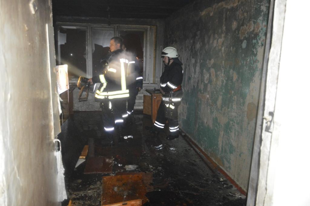 ВДнепре произошел пожар вобщежитии: эвакуировали неменее 20 человек