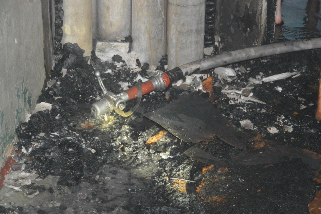 ВСумах произошел пожар вобщежитии, спасены 17 человек