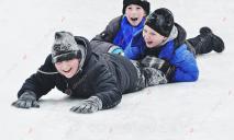 Официально: в Днепре из-за снегопада объявлены каникулы и выходные