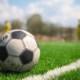 Сборная ДнепрОГА сыграла в футбол с учениками Солонянской опорной школы на новом поле