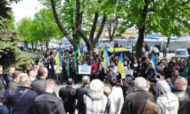Проплаченный «ворами» митинг: руководство Нацполиции отреагировало на события в Днепре