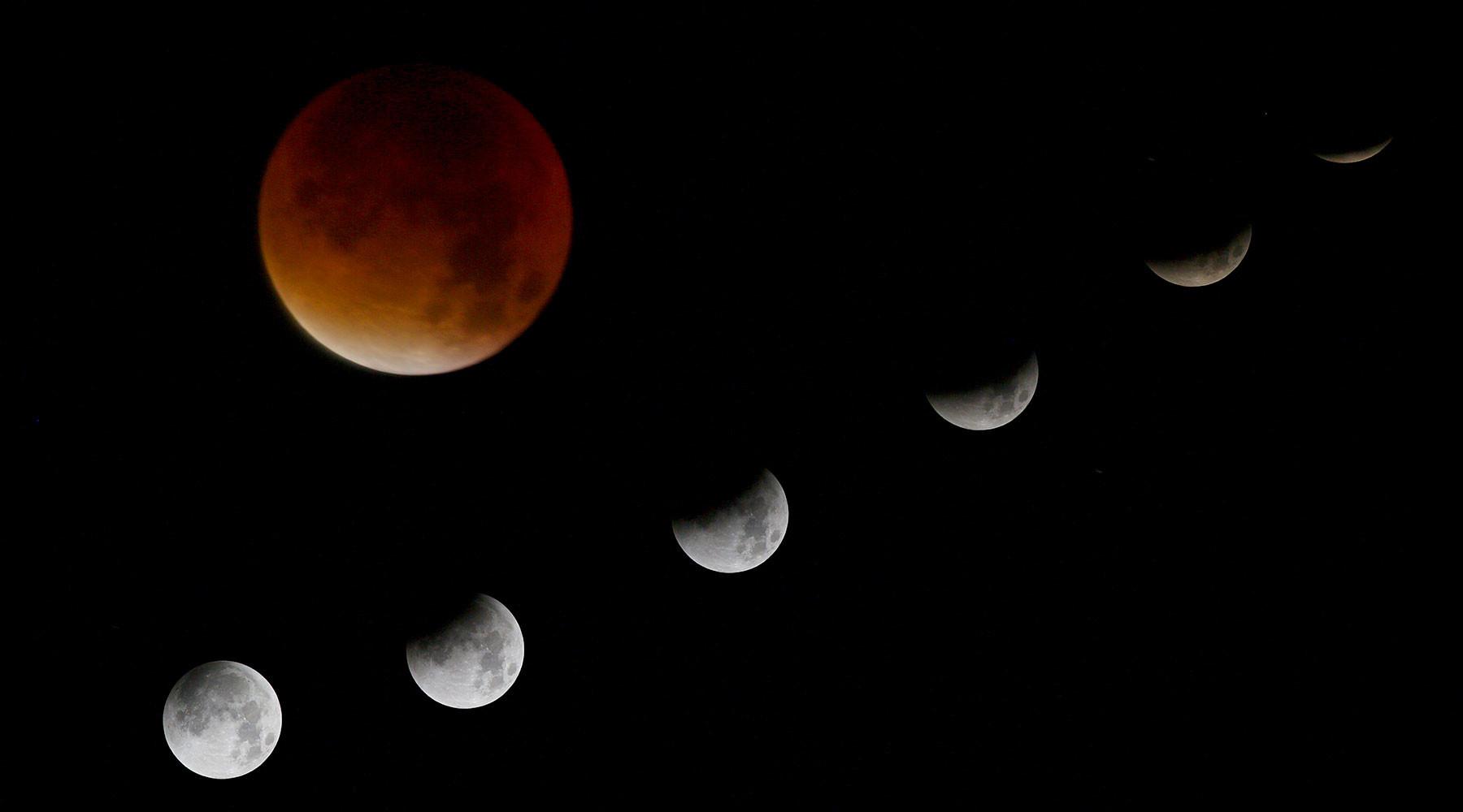 Лунное затмение вУкраинском государстве: где икогда смотреть
