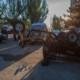 ДТП в Днепре: мотоцикл перевернулся и полетел на пешеходов