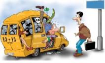 Днепрян просят помочь в борьбе с маршрутчиками